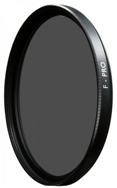 1066154 Filtr szary obiektywu, gęstość 1,8 ND, śr. 58 mm, B+W B+W,0