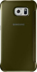 Pokrowiec   Etui Clear View Cover do smartfona Galaxy S6 EFZG920BFEGWW (złote),0