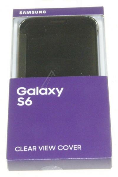 Pokrowiec   Etui Clear View Cover do smartfona Galaxy S6 EFZG920BFEGWW (złote),2