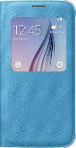 Pokrowiec   Etui S View tekstylne do smartfona Galaxy S6 EFCG920BLEGWW (niebieskie),0