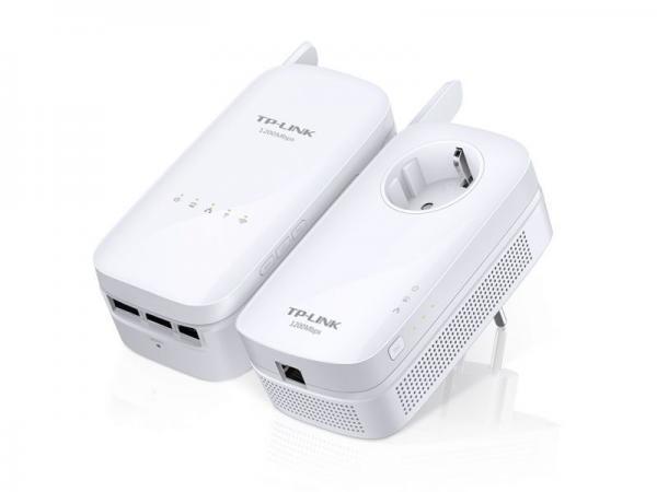 Adapter Powerline zestaw TP-Link TLWPA8630KIT,0