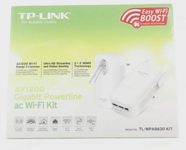 Adapter Powerline zestaw TP-Link TLWPA8630KIT,2
