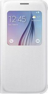 Pokrowiec | Etui S View do smartfona Galaxy S6 EFCG920PWEGWW (białe),0