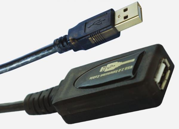 Kabel USB 2.0 (wtyk/ gniazdo) | (Aktywny),0