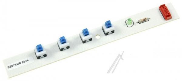 Sterownik | Płytka z przełącznikami panelu sterowania do okapu BE01XAR,0