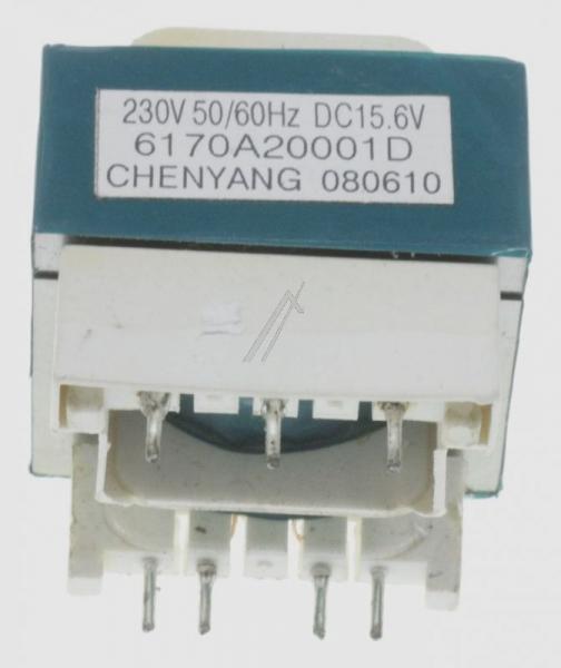 6170A20001D TRANSFORMER,POWER AC230V 50HZ DC15.6V 0.2A 41MM LG,0