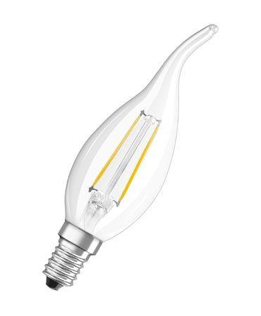 Żarówka | Lampa LED E14 2W Świeczka (Ciepły biały),0