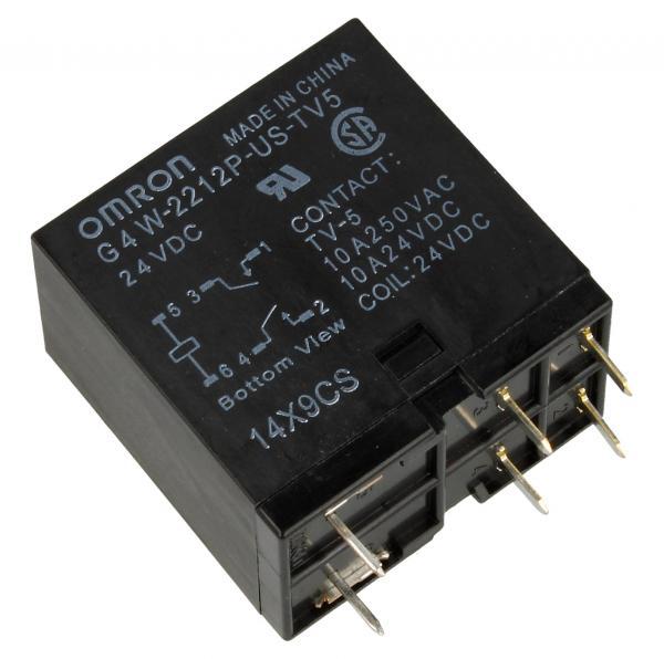 G4W2212PUSTV5HPDC24 24VDC15A250VAC RELAIS, 2 SCHLIESSER - ALTERNATIV FÜR JC2AD-DC24V OMRON,0