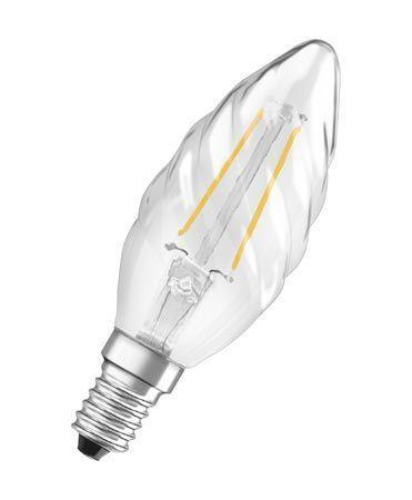 Żarówka   Lampa LED E14 2W Świeczka (Ciepły biały),0