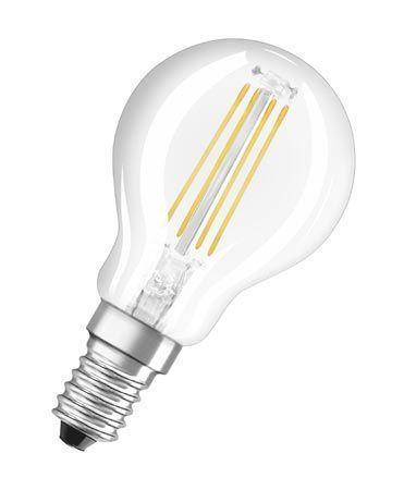 Żarówka | Lampa LED E14 3.8W Kulista (Ciepły biały),0