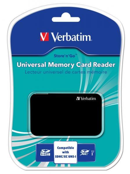 Czytnik kart pamięci Verbatim 47264,3