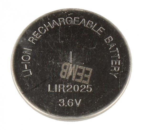 LIR2025 3,6V40MAH KNOPFZELLE, AUFLADBAR,0