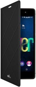 Pokrowiec | Etui Flip Cover do smartfona WIKO FEVER 95911 (czarne),1