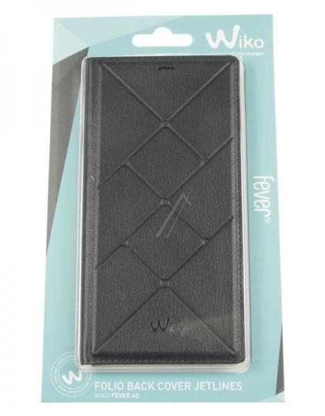 Pokrowiec | Etui Flip Cover do smartfona WIKO FEVER 95911 (czarne),2