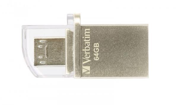Pendrive | Pamięć USB 3.0 64GB OTG Verbatim 49827,1