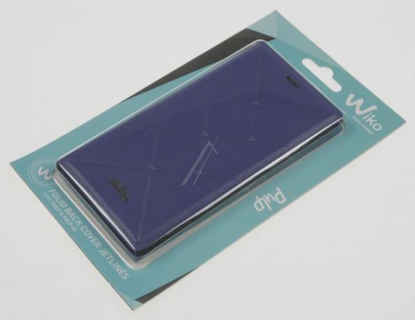 Pokrowiec | Etui Flip Cover do smartfona WIKO PULP 4G/3G 95641 (niebieskie),3