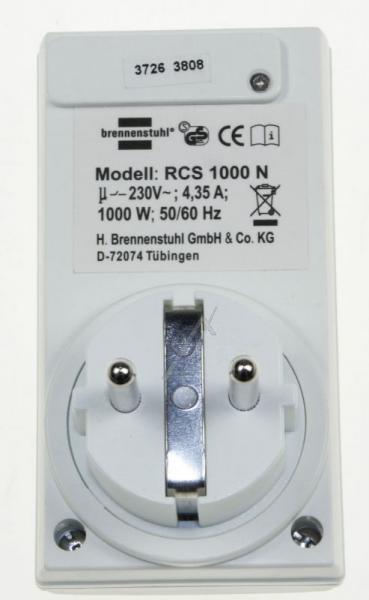 Gniazdo elektryczne zdalnie sterowane 0507457,1