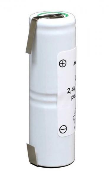 CNH100AL2 2,4V-1000MAH NIMH-AKKUPACK MIT U-LÖTFAHNEN,0
