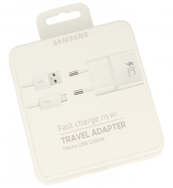 Ładowarka sieciowa USB + kabel micro USB do smartfona,0
