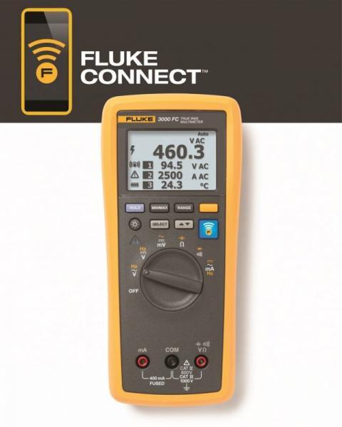 4401595 FLUKE3000FC WIRELESS DIGITALMULTIMETER FLUKE,0