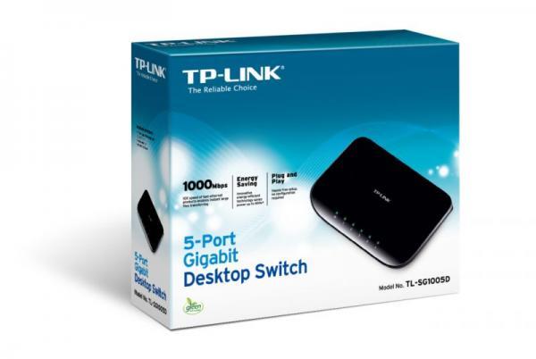 Switch LAN TP-Link TLSG1005DV60,2
