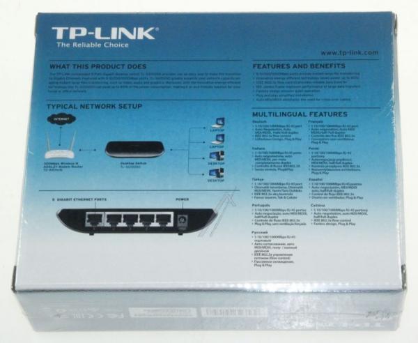 Switch LAN TP-Link TLSG1005DV60,6