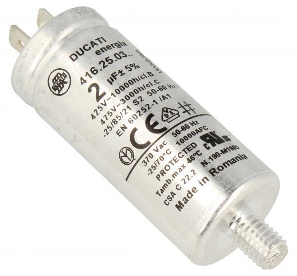 Kondensator rozruchowy 2,0UF475VFASTON6,3MM,0