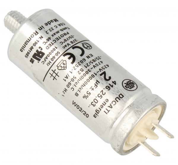 Kondensator rozruchowy 2,0UF475VFASTON6,3MM,1