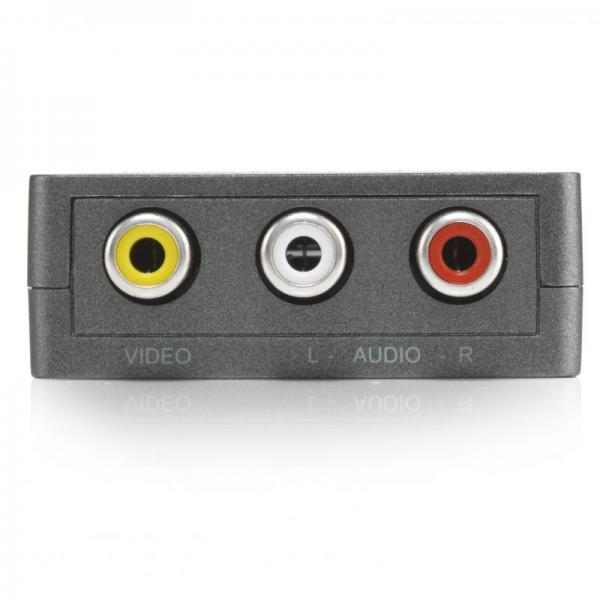 Konwerter HDMI - CINCH (gniazdo/ gniazdo x3) 08263,4