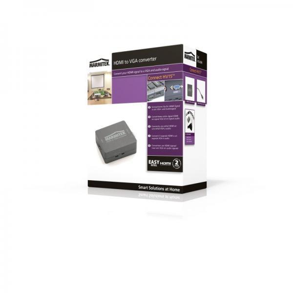 Konwerter HDMI - VGA (wtyk/ gniazdo) 08266,1