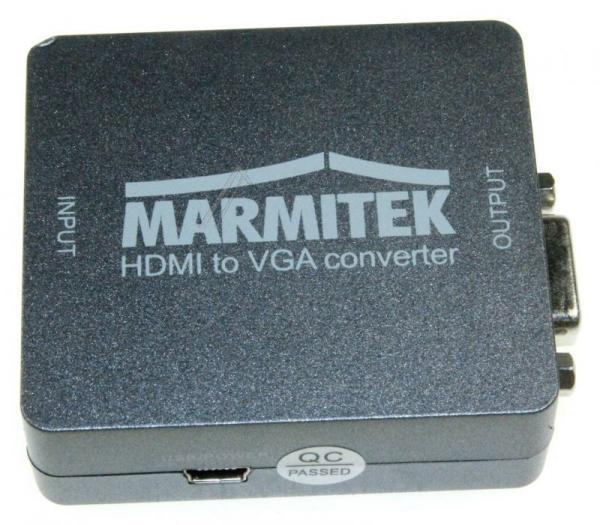 Konwerter HDMI - VGA (wtyk/ gniazdo) 08266,5
