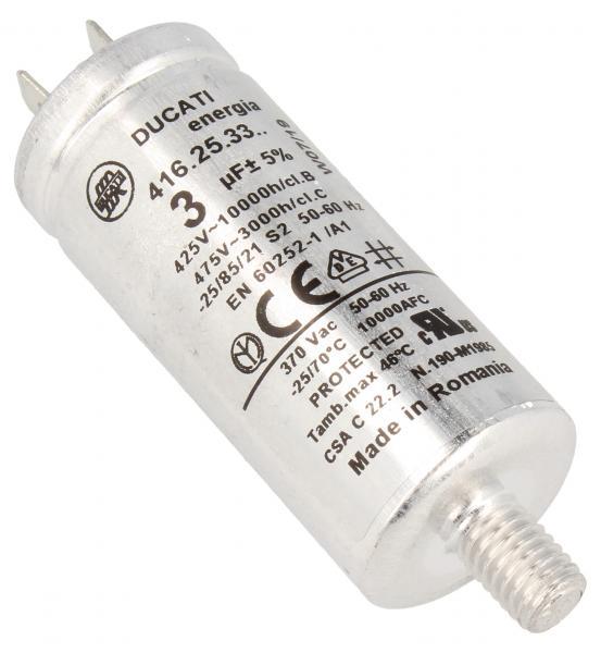 Kondensator rozruchowy 3,0UF475VFASTON6,3MM,0