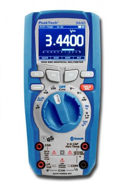 Multimetr   Miernik P3440 Peaktech,0