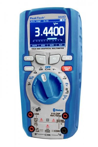 Multimetr   Miernik P3440 Peaktech,10