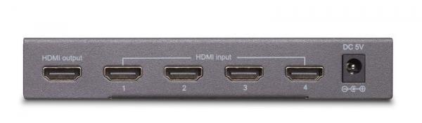 08249 CONNECT420UHD FULL HD 5 INPUT / 1 OUTPUT HDMI SWITCHER MIT 3D SUPPORT MARMITEK,1