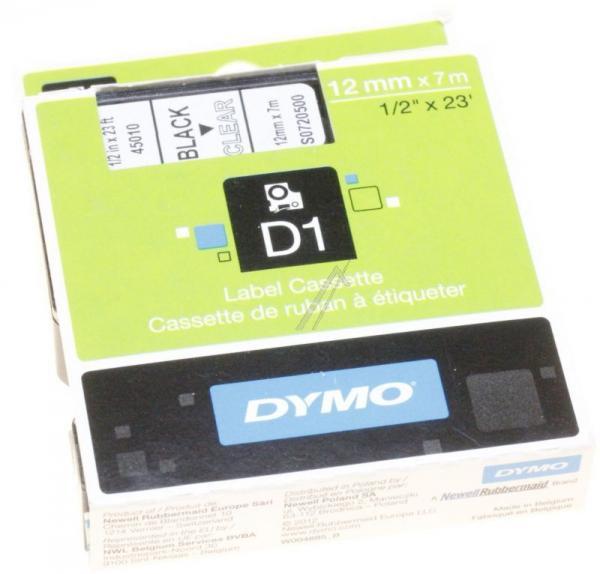 S0720500 Taśma przeźroczysta D1 12mm/7m DYMO,0