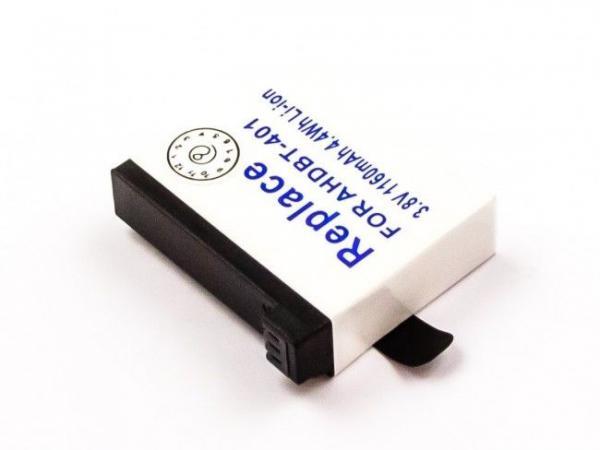 DIGCA37111 Akumulator do kamery GoPRO 3,7V-1160MAH Li-Ion,0