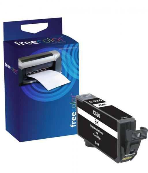 Tusz czarny do drukarki Freecolor CACLI526BKINKFRC,0