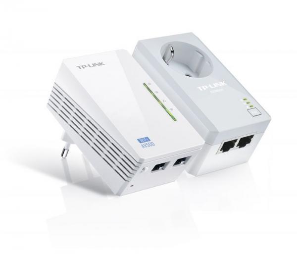 Transmiter | Adapter Powerline zestaw TP-Link TLWPA4226KIT,0