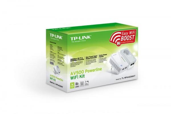 Transmiter | Adapter Powerline zestaw TP-Link TLWPA4226KIT,1