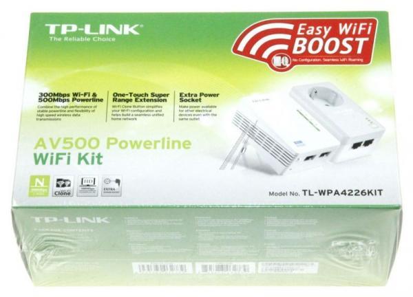 Transmiter | Adapter Powerline zestaw TP-Link TLWPA4226KIT,2