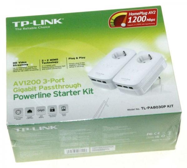 Transmiter | Adapter Powerline zestaw TP-Link TLPA8030PKIT,3