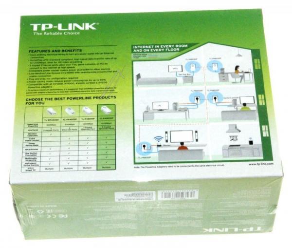 Transmiter | Adapter Powerline zestaw TP-Link TLPA8030PKIT,4