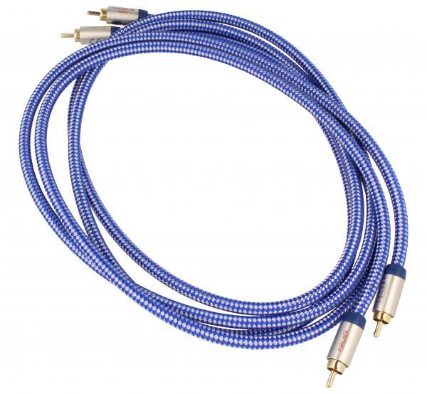 Kabel CINCH 1.5m (wtyk x2/ wtyk x2) | (Premium II) Inakustik 00404015,0