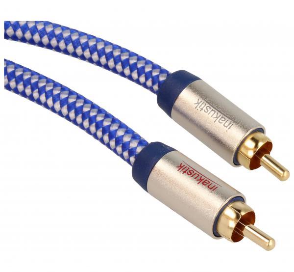 Kabel CINCH 1.5m (wtyk x2/ wtyk x2) | (Premium II) Inakustik 00404015,1