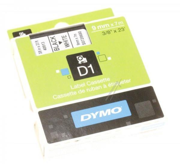 S0720680 Taśma biała D1 9mm/7m DYMO,0