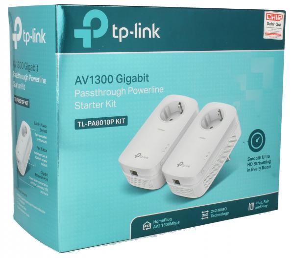Transmiter | Adapter Powerline zestaw TP-Link TLPA8010PKIT,0