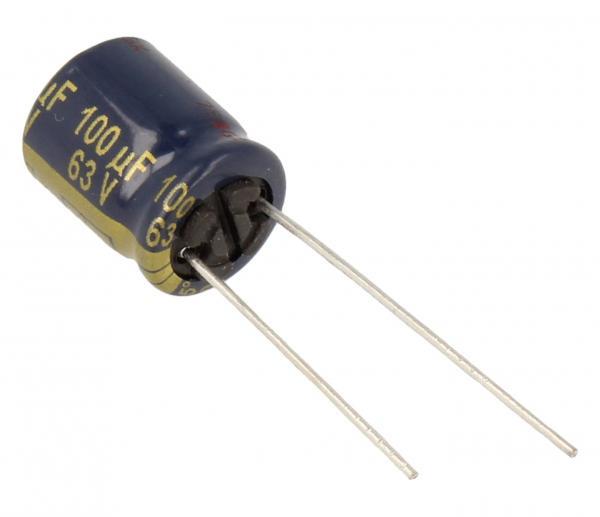 100uF | 63V Kondensator elektrolityczny EEUFC1J101,0
