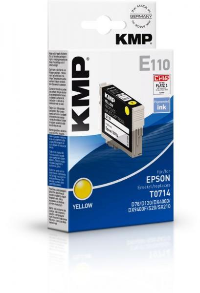 E110 1607,4009 TINTENPATRONE, GELB KMP,0