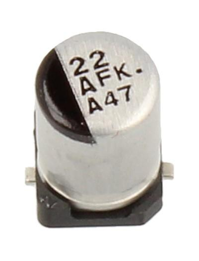 Kondensator SMD PANASONIC EEEFK1A220AR ,0